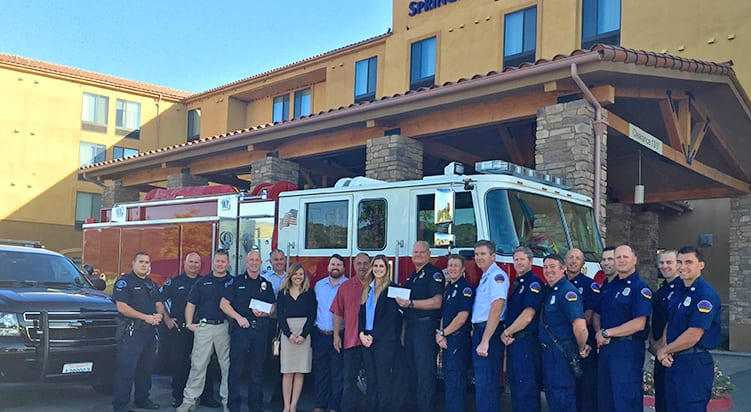 Atascadero fire and police to receive donation from Westar