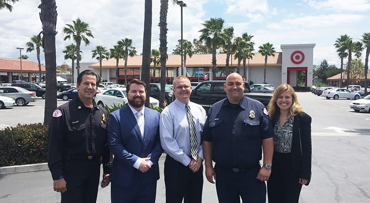 Westar Associates Makes Charitable Donation to Long Beach Police Officers Association and Fire Department Organizations