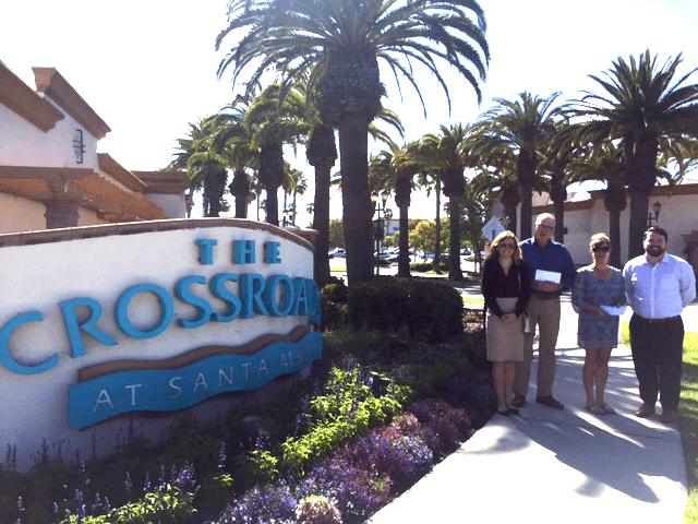 The Crossroads & College Square shopping centers in Santa Maria