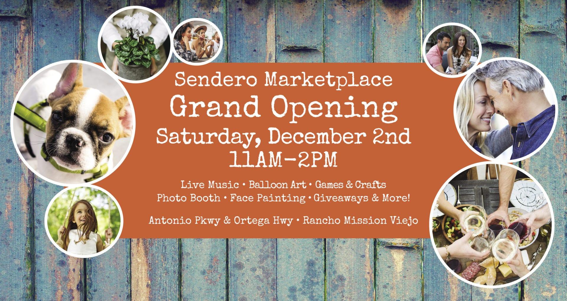 Sendero Marketplace Grand Opening