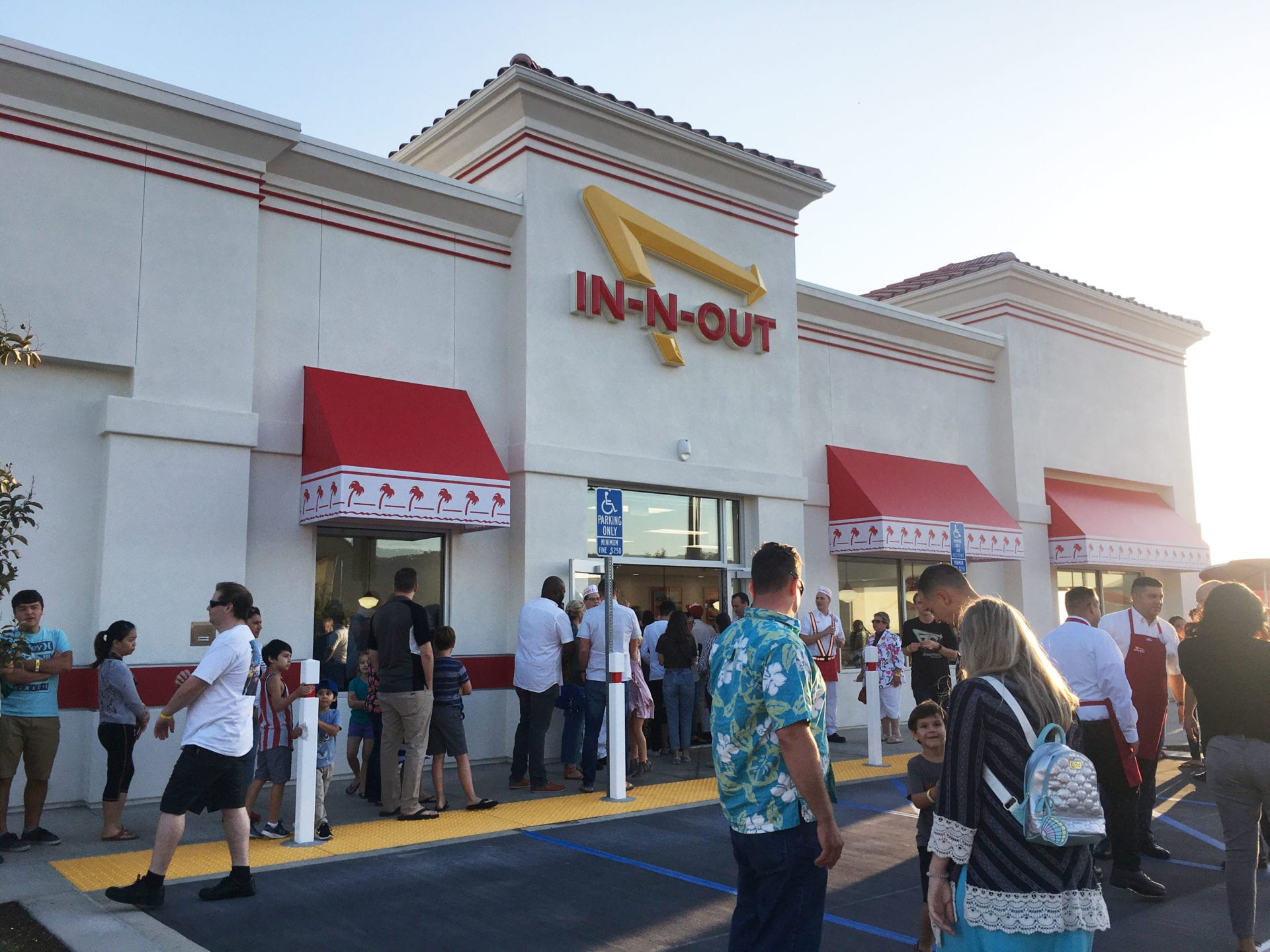 In N Out Burger Will Open In Rancho Mission Viejo On Wednesday Oct