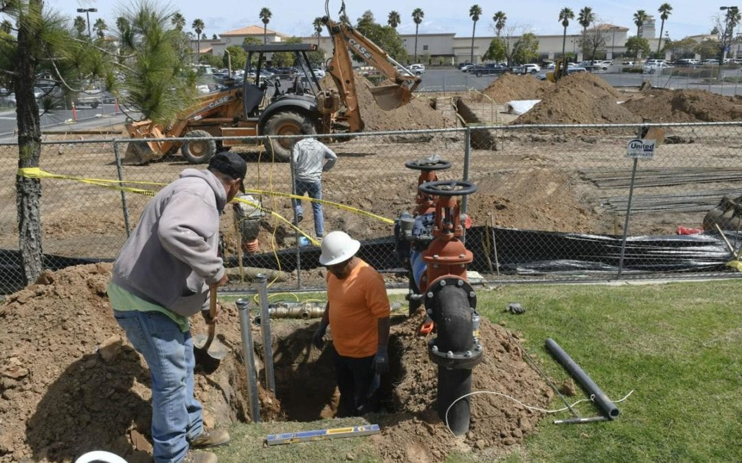 Construction begins on Krispy Kreme Doughnuts in Santa Maria; fall opening expected