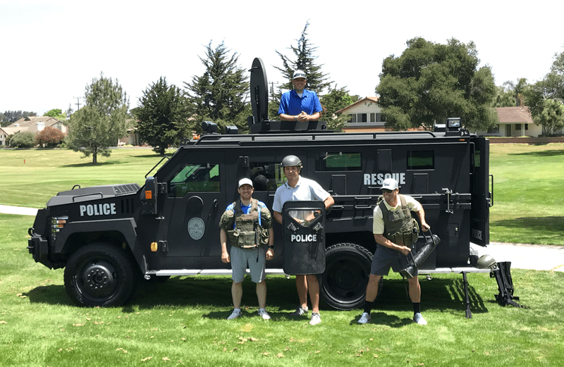 Santa Maria Police Council Hosts 11th Annual Golf Tournament and Comedy Night
