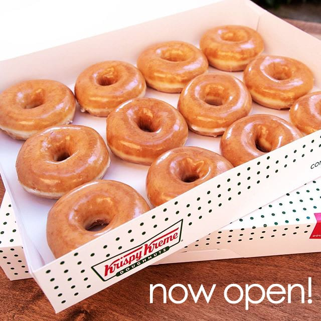 Warm doughnuts, long lines at Krispy Kreme's Santa Maria grand opening