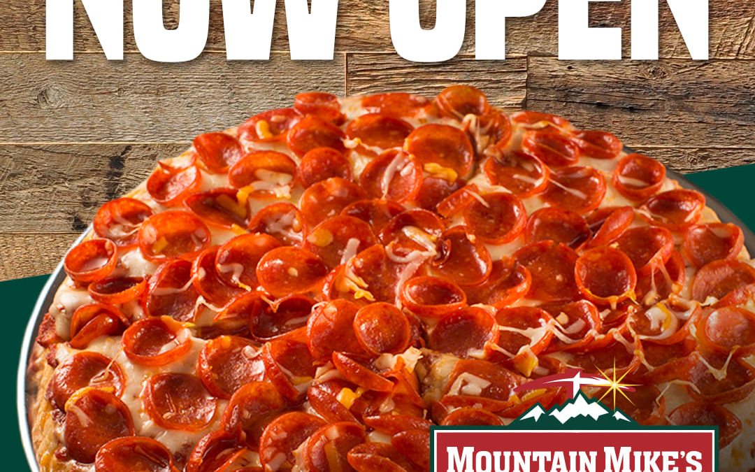 New Mountain Mike's Pizza Opens in Crossroads at Santa Maria