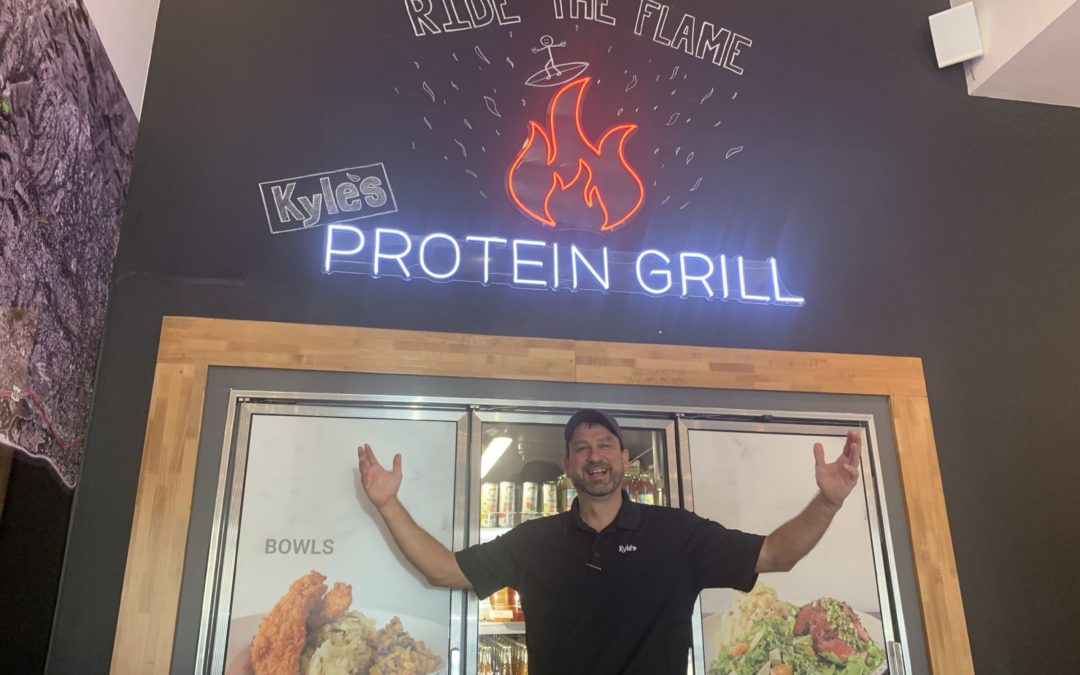 BizHawk: Kyle's Protein Grill Is Back in Business